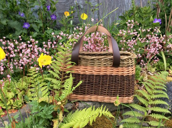 West Wales Willows Basket taken from Willow by Jenny Crisp